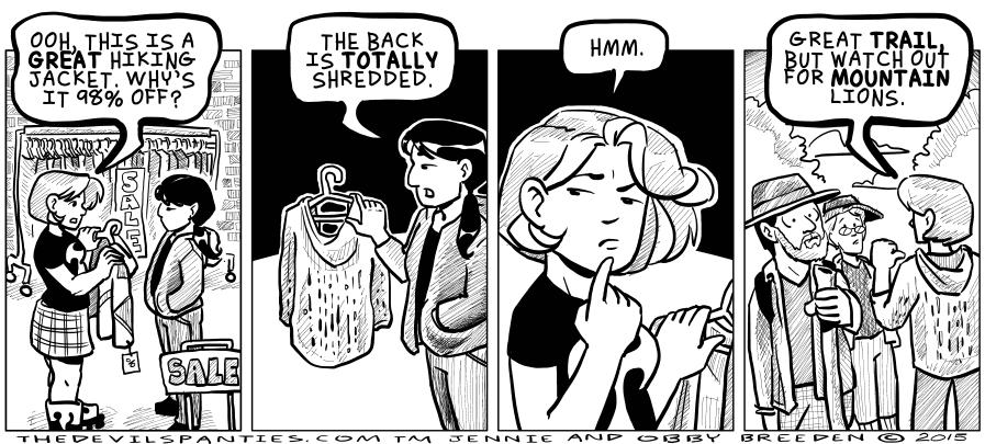 Doesn't matter that it's shredded, it's on sale!